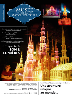 Musee Matchitecture un spectacle son & lumières