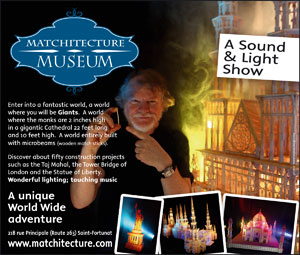 Matchitecutre museum - a sound & light show